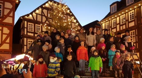 Chorauftritte vor Weihnachten