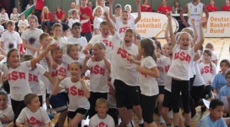 Basketball - Grundschul - Weltmeisterschaft in Gießen