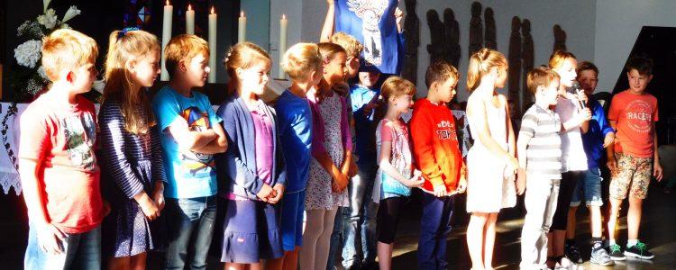 Gelungene Einschulung der Grundschule am Diebsturm