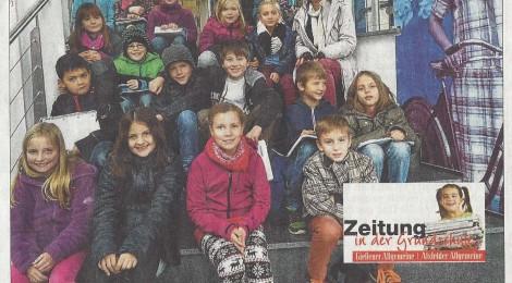 Zeitung in der Grundschule