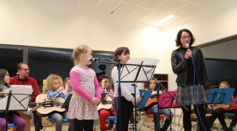 Abschlusskonzert des Orchester Kunterbunt